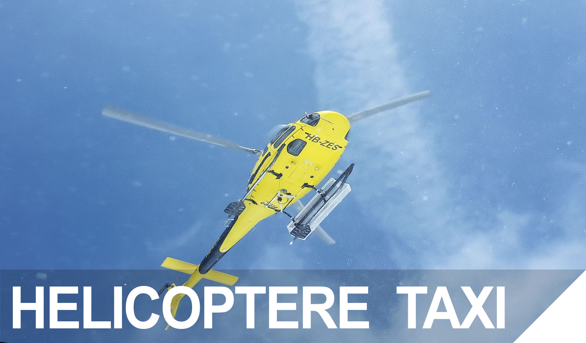 HELICOPTERE TAXI